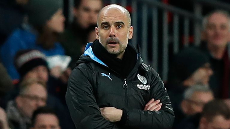 Pep Guardiola is keen to ensure Man City remain the best of the rest behind Premier Leagued champions Liverpool