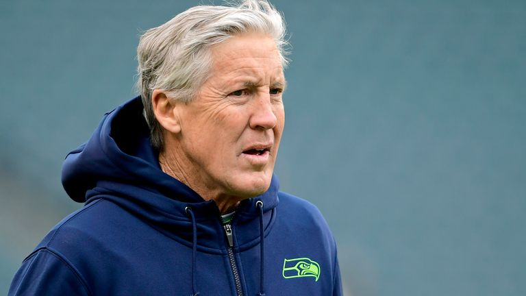Pete Carroll and the Seahawks are still searching for a return to the Super Bowl five years on from their defeat to the Patriots