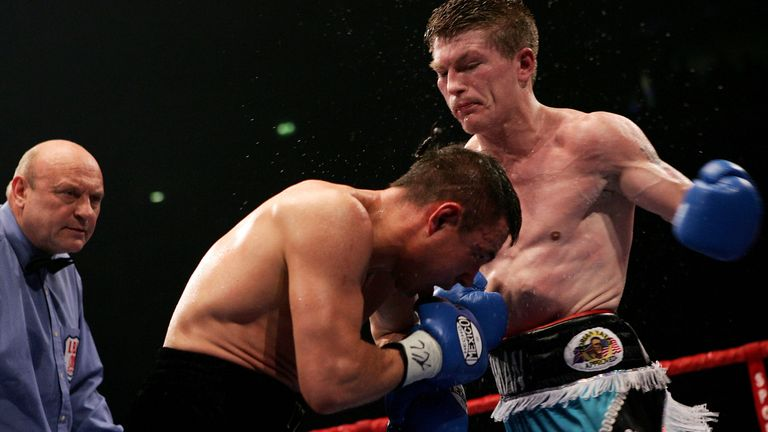 Hatton forced a late stoppage