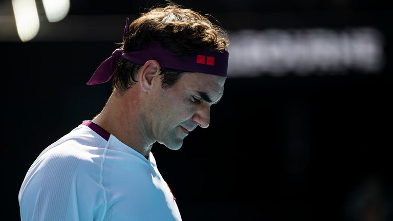Federer admits he is still not feeling 100 per cent after two knee operations