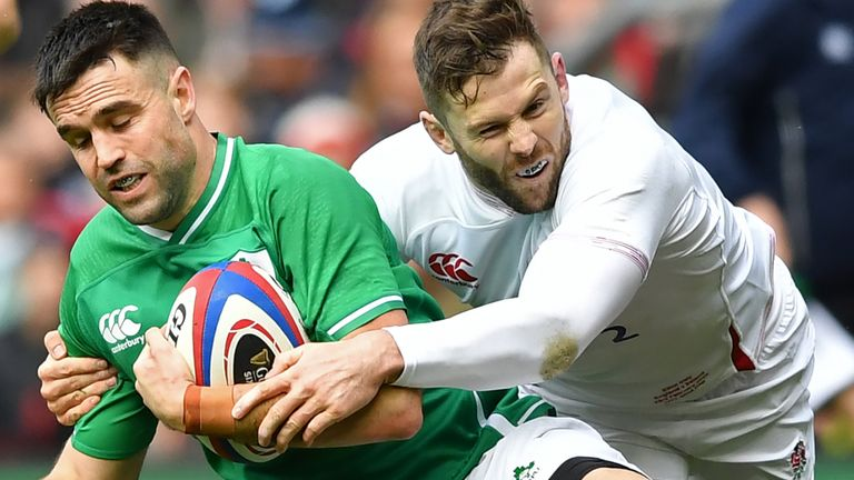 England beat Ireland 24-12 at Twickenham in the Six Nations in February