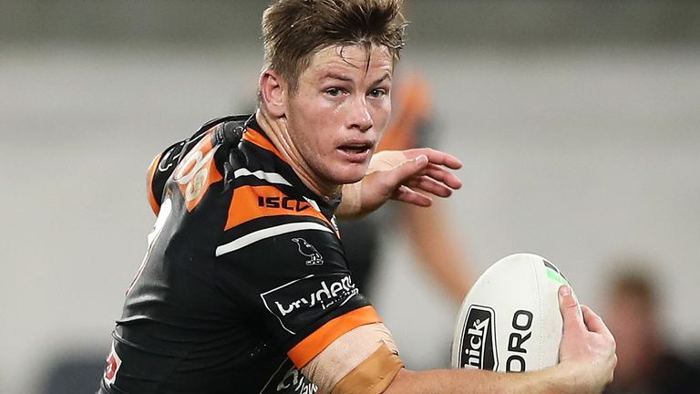 Harry Grant has impressed for Wests Tigers this year