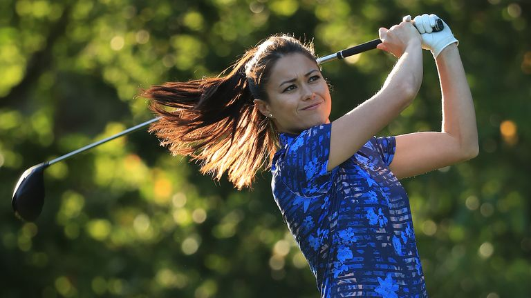 Sam Quek played in the Pro Am ahead of the BMW PGA Championship in 2018