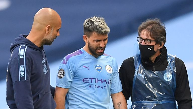 Sergio Aguero's persistent injury problems offer City another conundrum