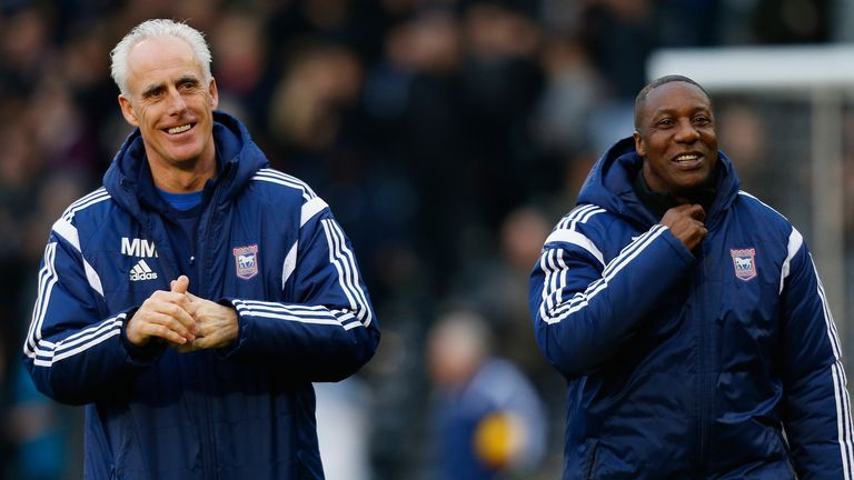 Terry Connor was Mick McCarthy's assistant at Ipswich Town from 2012-2018