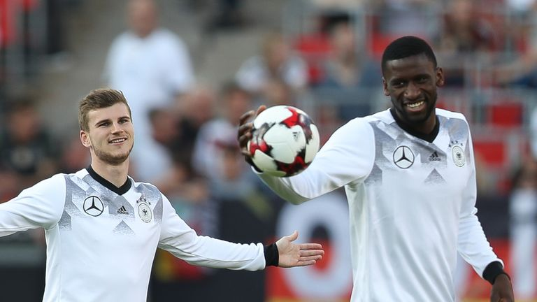Timo Werner and Antonio Rudiger have played together for Stuttgart and the German national side