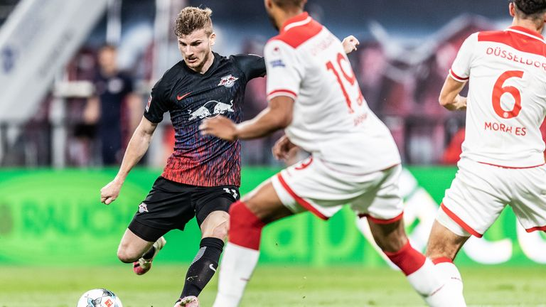Rudiger likes Werner's playing style to that of Leicester forward Jamie Vardy
