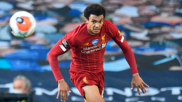 Trent Alexander-Arnold has also been nominated for the young player award