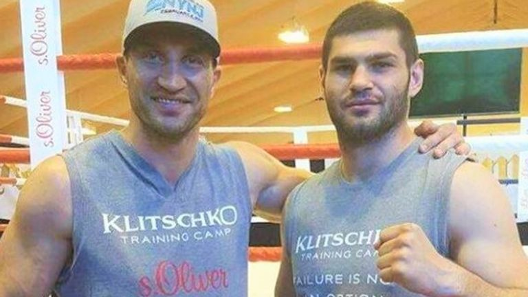 Wladimir Klitschko sparred with Filip Hrgovic in the closing years of his career