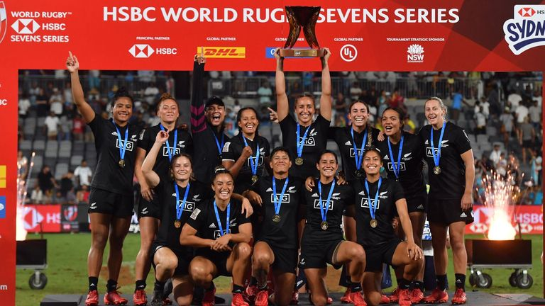 New Zealand won all but one of the first five women's tournaments