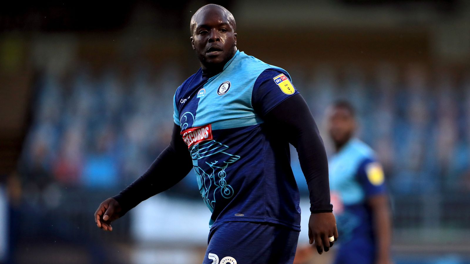 Adebayo Akinfenwa says he was called a 'Fat Water Buffalo' during play-off match thumbnail