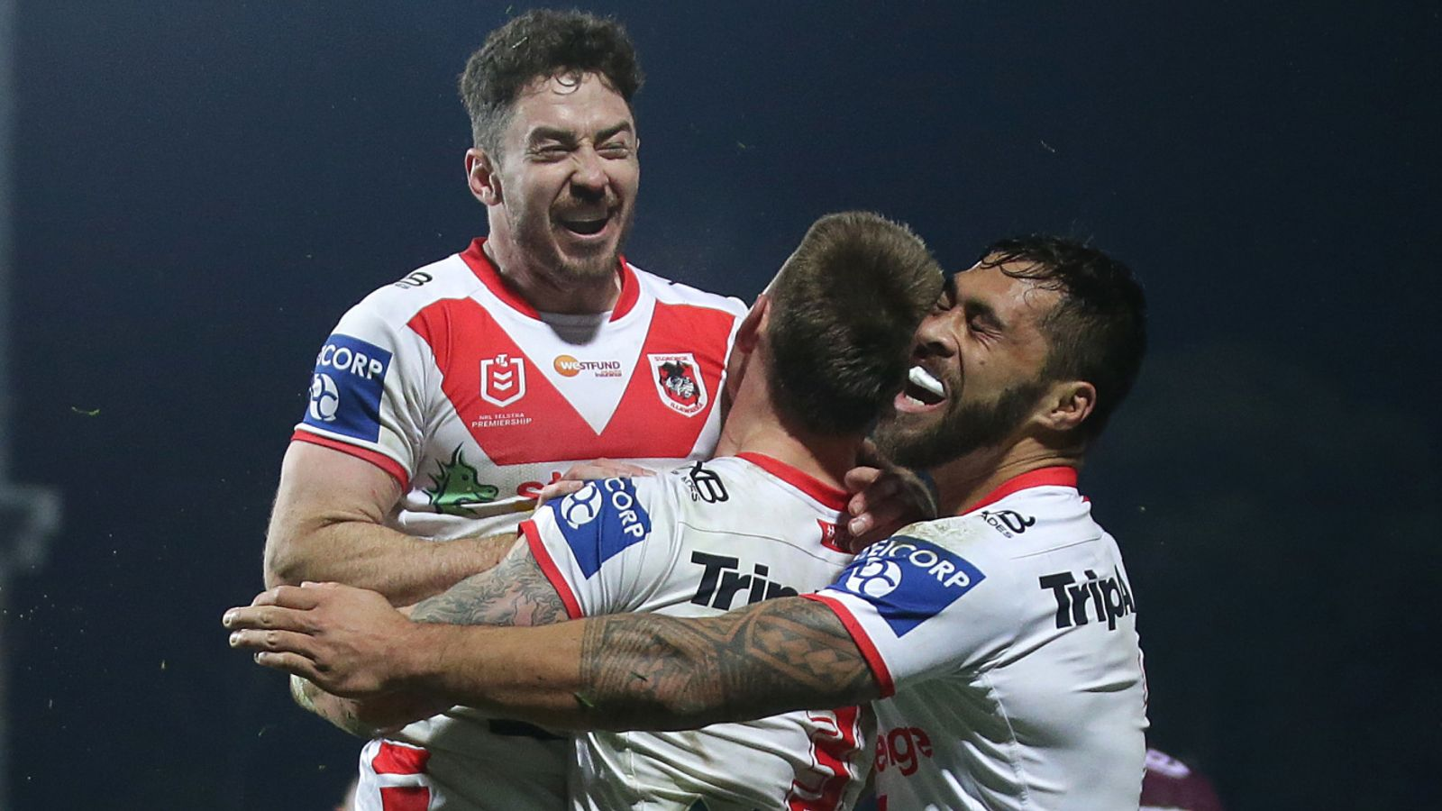 Sunday's NRL: Parramatta Eels slip past Newcastle Knights; Delight for St George Illawarra Dragons