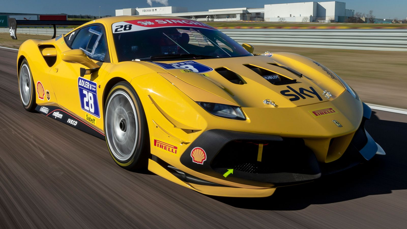 Ferrari Challenge's 2020 season begins on Sky Sports F1                                 Watch highlights of opening two races from