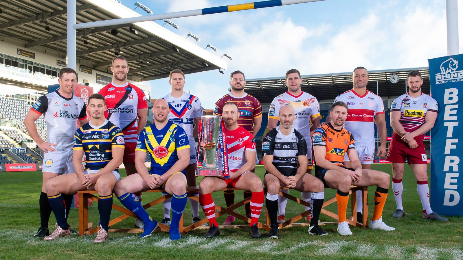Super League: 21 games in 29 days in August as fixtures for rest of 2020 regular season are revealed