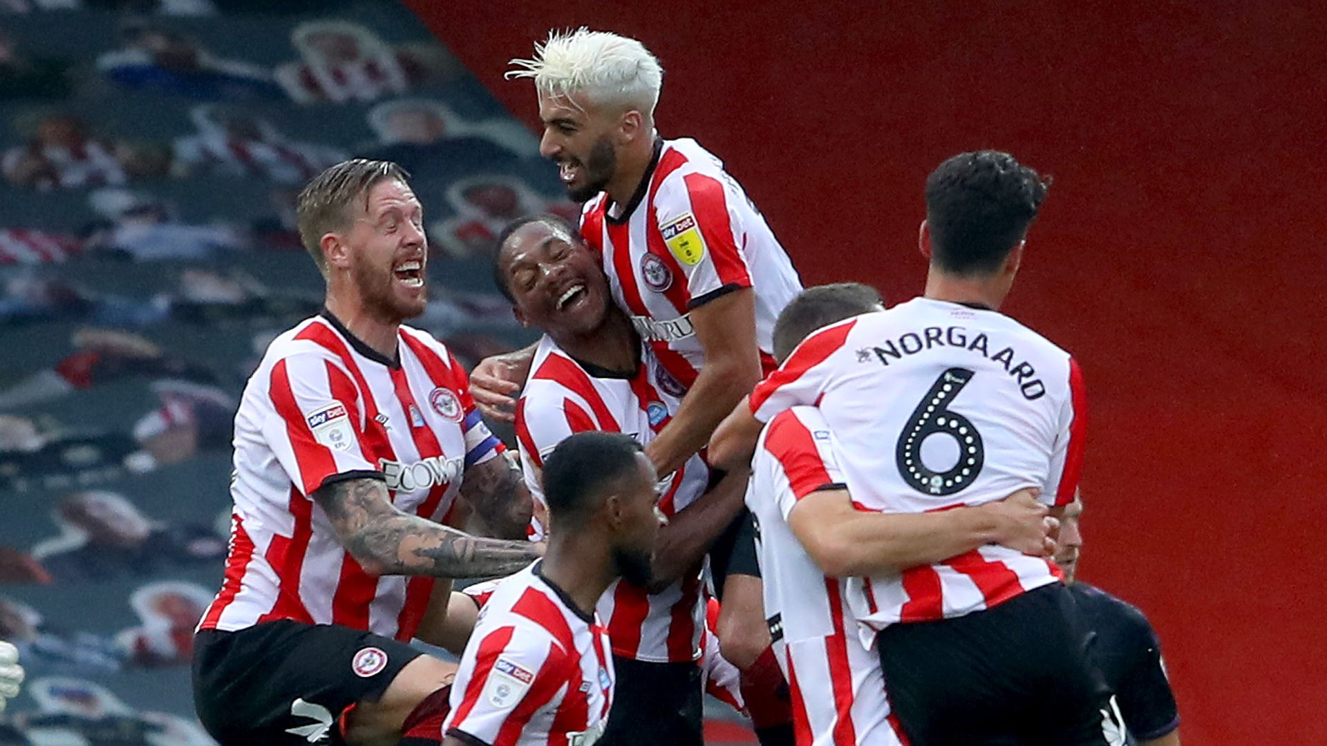 Late Brentford comeback sinks Charlton
