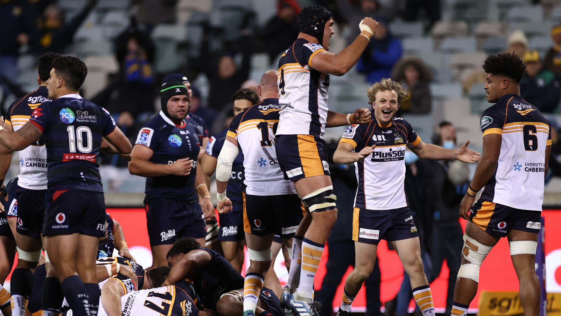 Brumbies hold off Rebels - sky sports