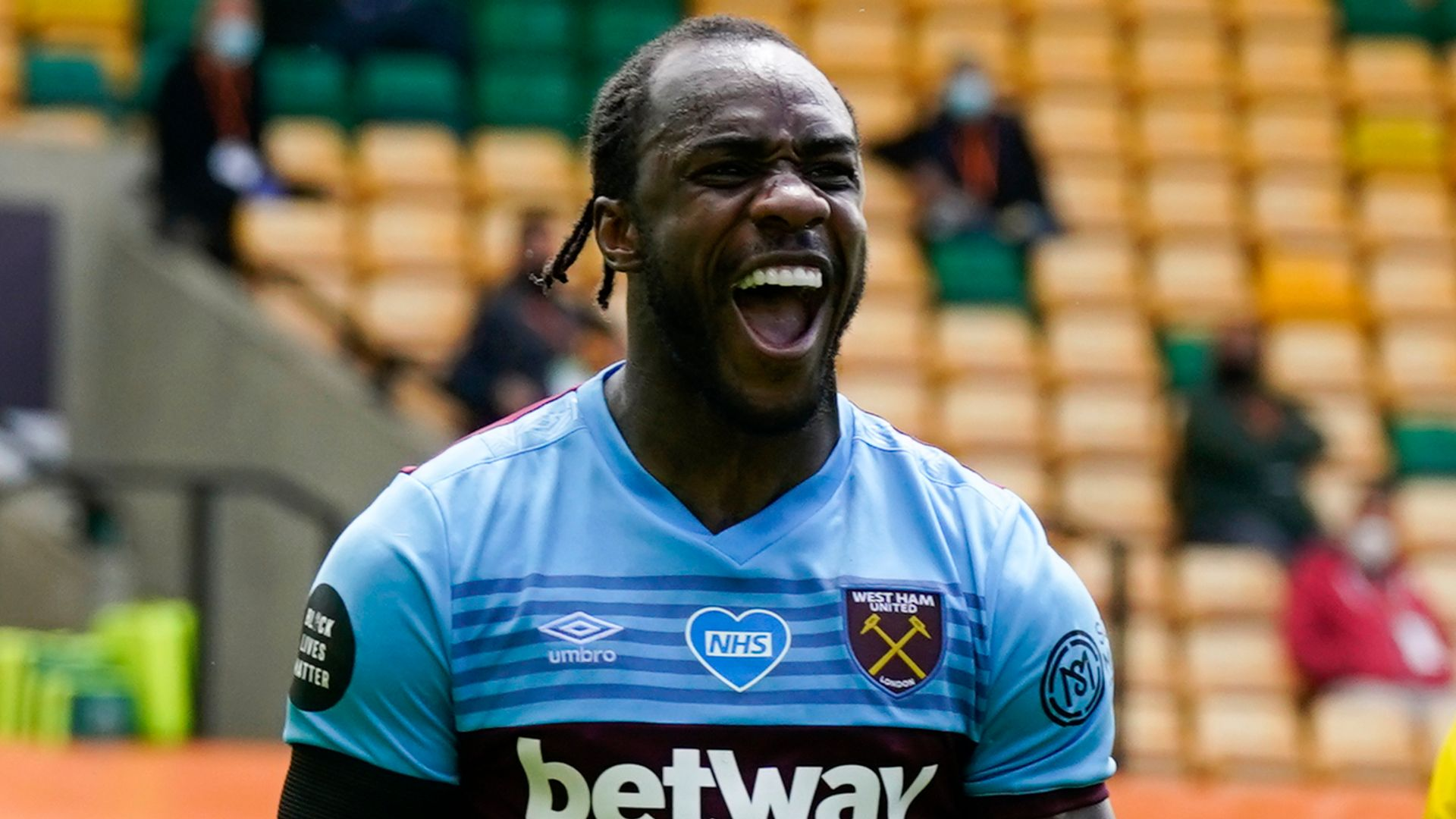 Antonio named PL player of the month