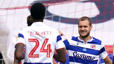 George Puscas scored the winning penalty for Reading