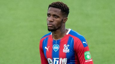 fifa live scores - Wilfried Zaha: Police arrest 12-year-old boy after racist messages sent to Crystal Palace winger