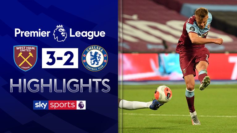 FREE TO WATCH: Highlights from West Ham's win against Chelsea in the Premier League