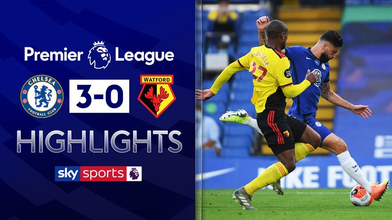 FREE TO WATCH: Highlights from Chelsea's win over Watford