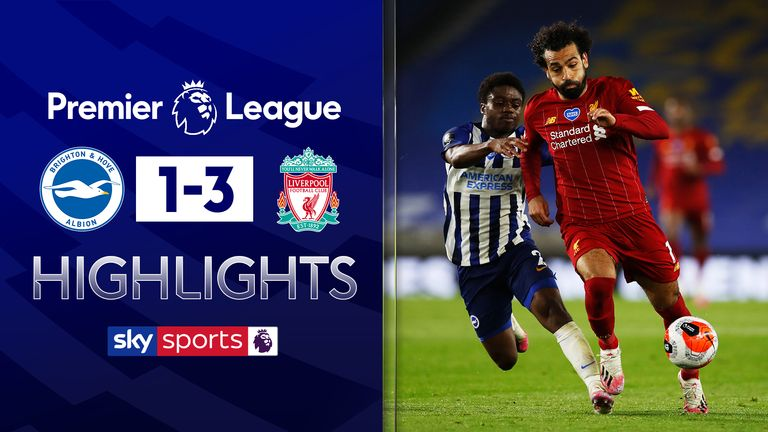 FREE TO WATCH: Highlights from Liverpool's win over Brighton