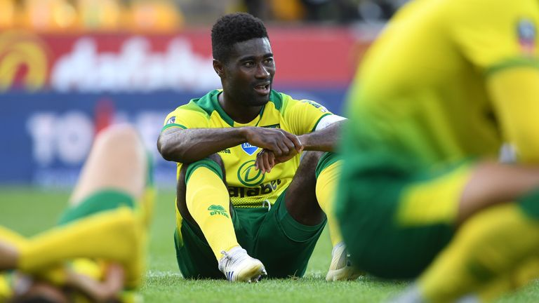 Tettey has been one of Norwich's outstanding performers this season