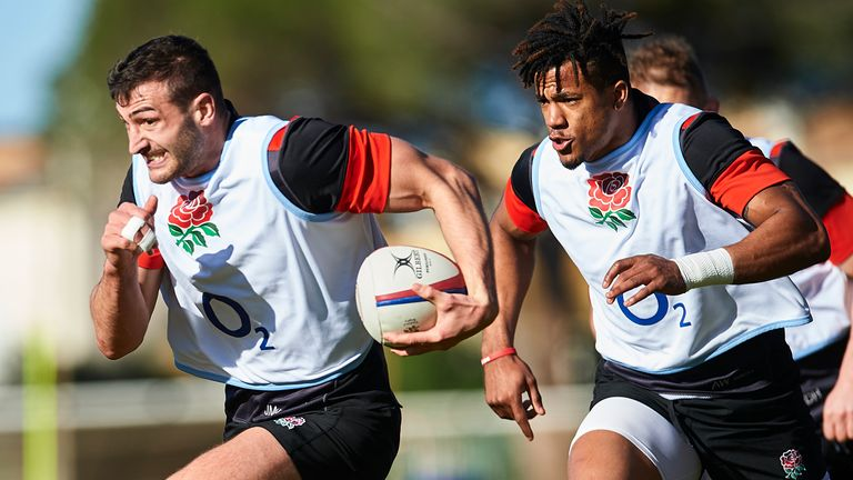 Will we see the likes of Jonny May (L)  explode against Ireland?