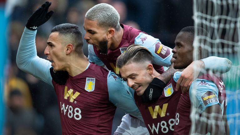 Aston Villa remain four points adrift of safety in the relegation zone