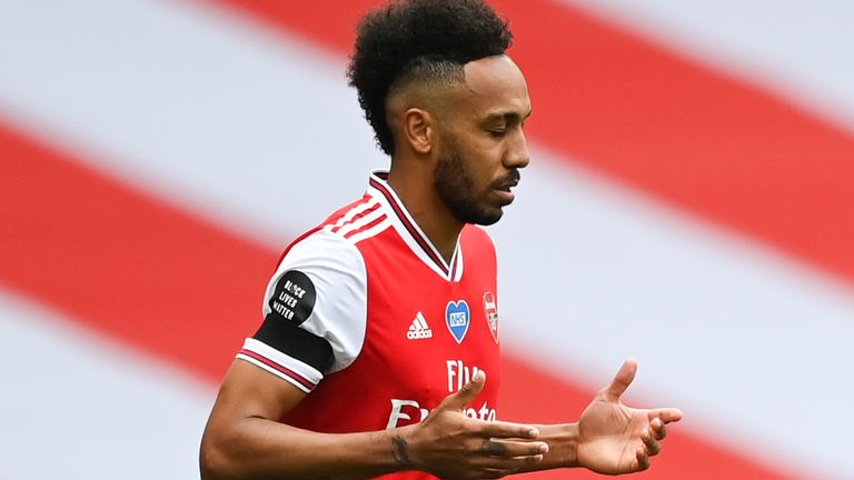 Pierre-Emerick Aubameyang drops fresh hint about his Arsenal future