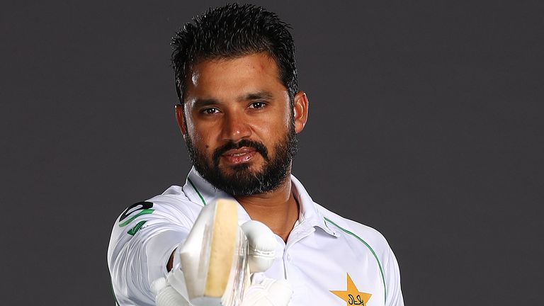 Pakistan Test captain Azhar Ali has an overall Test batting average of 42.58 but 31.96 against England