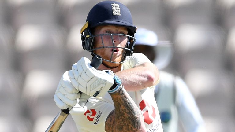 Ben Stokes captained England in the absence of Joe Root