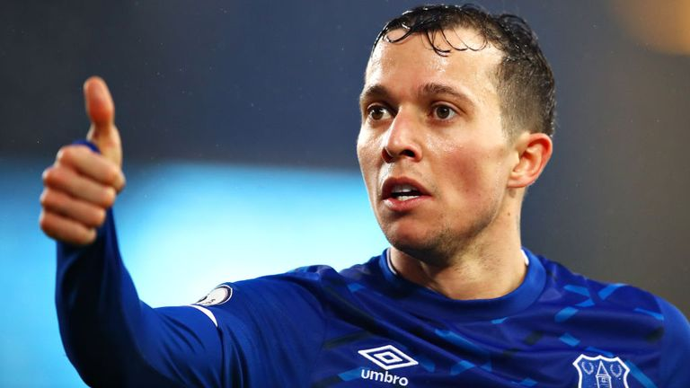 Everton forward Bernard had an anxiety attack last year