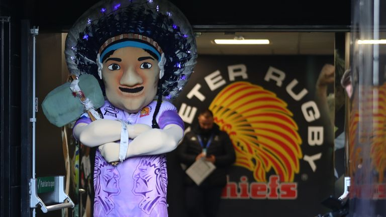 'Big Chief' is the mascot of Exeter Chiefs