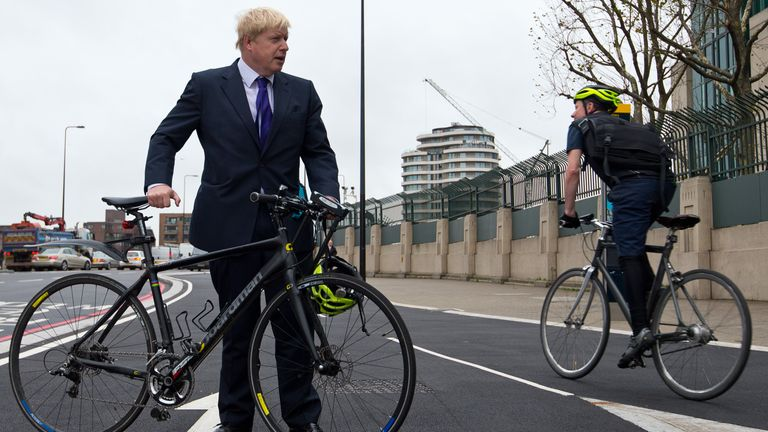 "Johnson describes the scheme as one of the government's ""biggest and boldest plans"""