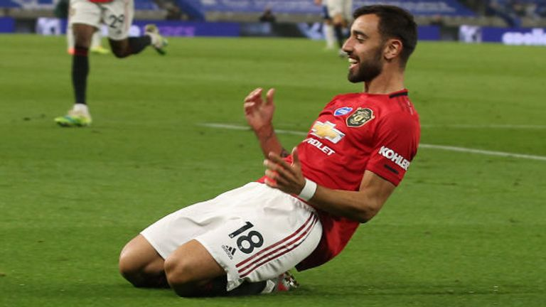 Bruno Fernandes has been a key figure in Manchester United's 17-game unbeaten run