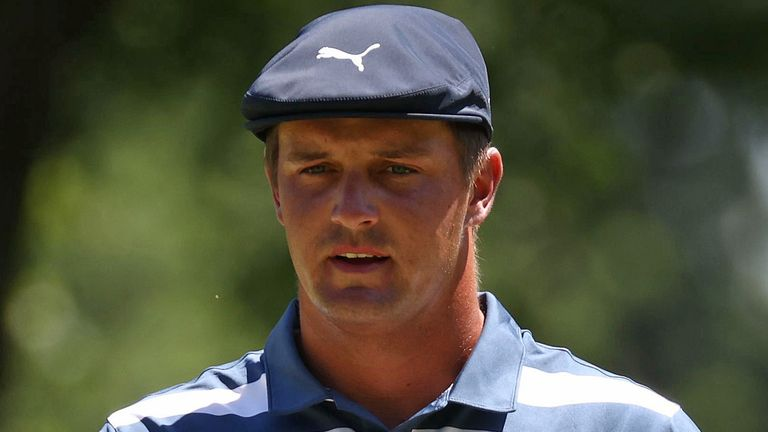 DeChambeau currently sits fourth in the FedExCup standings