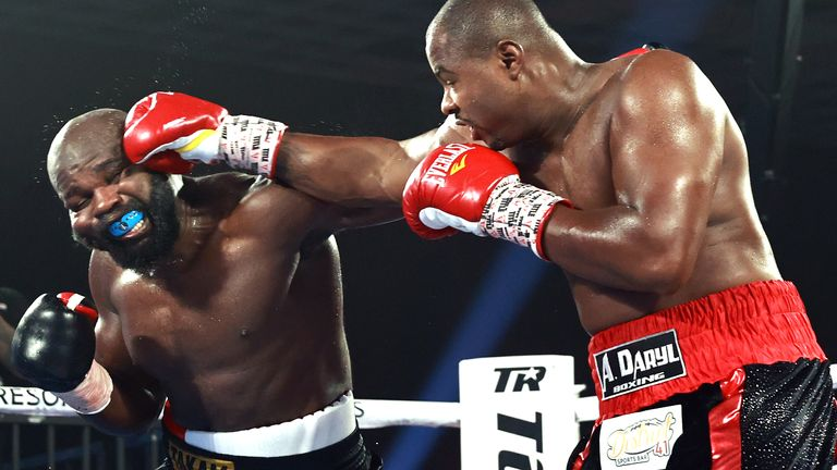 Veteran Takam replaced Jarrell Miller in this fight