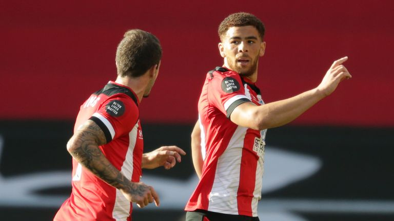 Southampton recently beat United's rivals Manchester City thanks to Che Adams' long-range strike