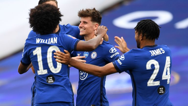 Mason Mount has impressed under Frank Lampard as part of a vibrant Chelsea