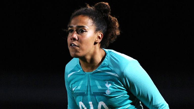 Morgan helped Tottenham clinch promotion to the FA WSL last year
