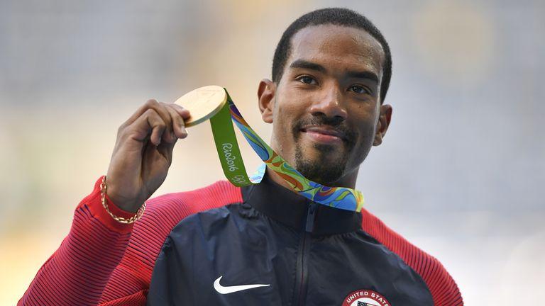 Taylor won triple jump gold in Rio