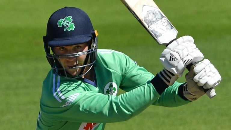 Campher is the third Ireland batsman, after Eoin Morgan and Andre Botha, to score a fifty on ODI debut