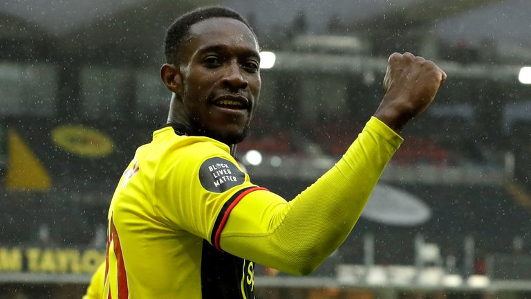 Danny Welbeck looks set to leave Watford this summer