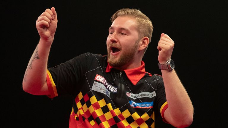Van den Bergh's Matchplay exploits have elevated him to a career high of 12th in the world