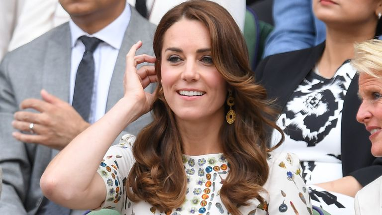 The Duchess of Cambridge was joined by surprise guest, Andy Murray