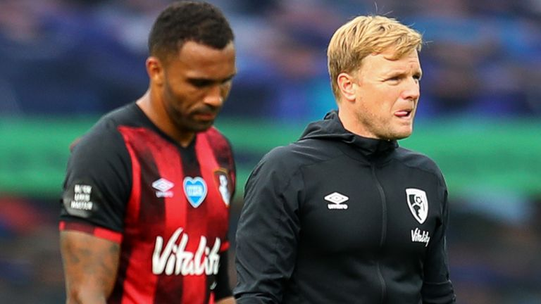 Howe may have to plot Bournemouth's return to the Premier League without key players such as Callum Wilson