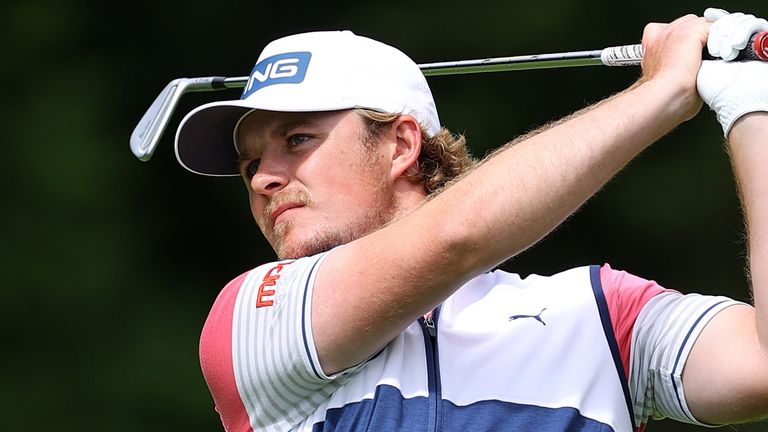 Eddie Pepperell discarded his putter into water at the end of the British Masters