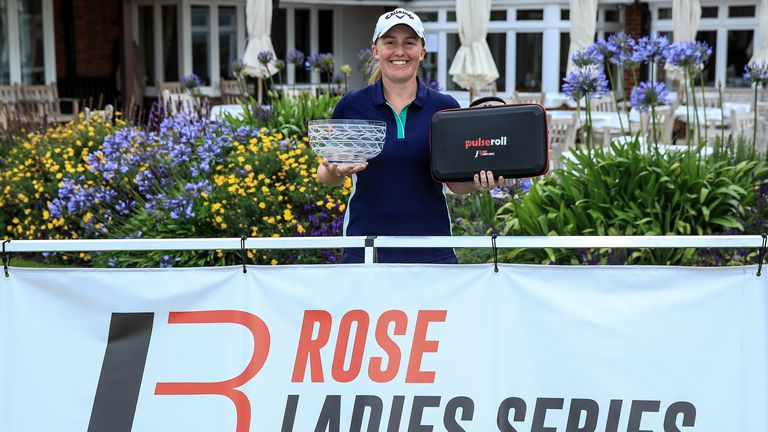 Gemma Dryburgh ended a historic day with another title at Royal St George's