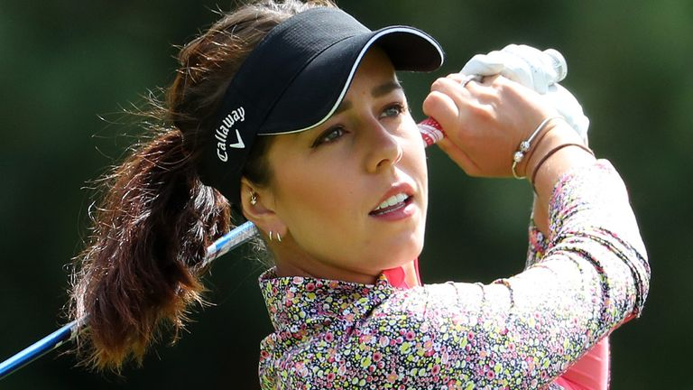 Hall won't return to the LPGA Tour until after the Rose Ladies Series